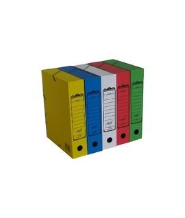 Папка архивная короб  А4 75 мм картон (325х260х75) цвет в ассортименте