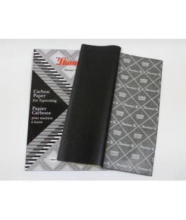 Бумага копировальная Flamingo формат А4, 100 листов, черная..