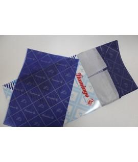 Бумага копировальная Flamingo формат А4, 100 листов, синяя.