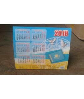 Календарь настольный 2018 год (домик)
