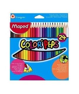 """Набор цветных карандашей """"Maped"""".  24 цветов"""