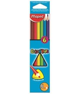 """Набор цветных карандашей """"Maped"""".  6 цветов"""