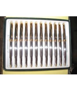 Шариковая ручка для ЛОГОТИПА (920)- металл. цвет чернил-синий.