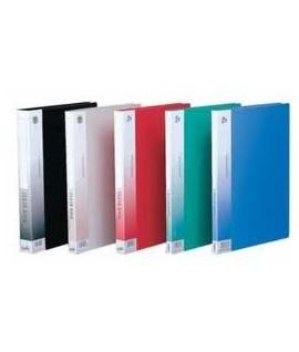 Папка с файлами VISIT, на 10 файлов А4, цвет – ассорти