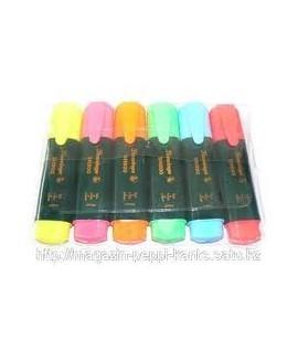 Набор текстовых маркеров Flamingo - 6 цвета