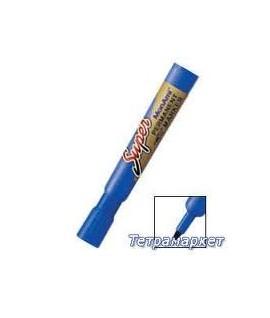 Маркер перманентный SUPER MonAm - цвет синий.