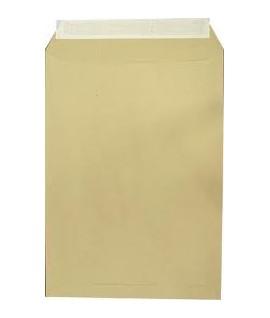 Конверт А4 - с окошком цвет белый, отрывная лента