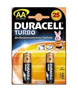 Батарейки Duracell AA  2 штуки