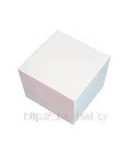 Блок бумаги для заметок 90*90 400 листиков белая