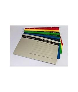 Папка подвесная для картотек цвет в ассортименте