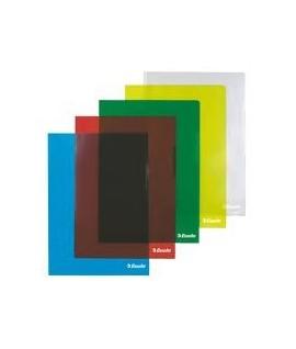 Папка уголок - формат А4. цвет - в ассортименте