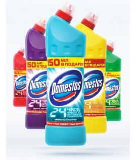 Гель (чистящее средство) Domestos 1l