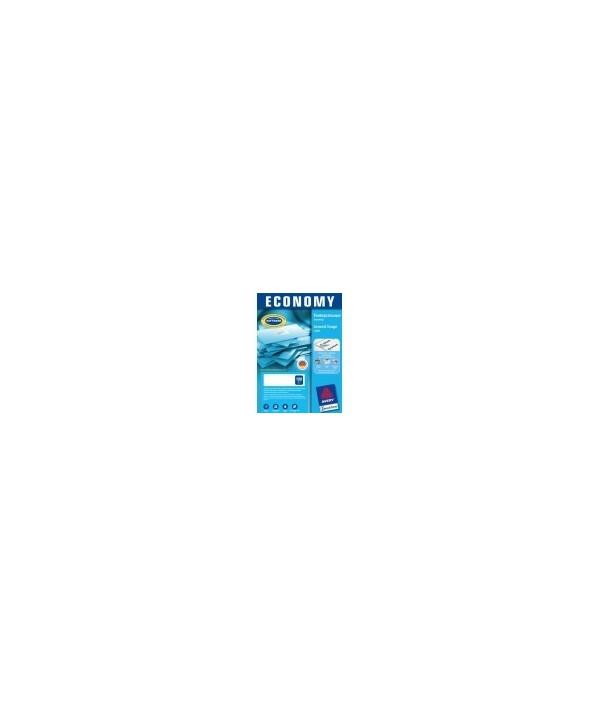 Самоклеящиеся универсальные этикетки avery europe-100, белые, 70x36мм, 24 деления, 100л